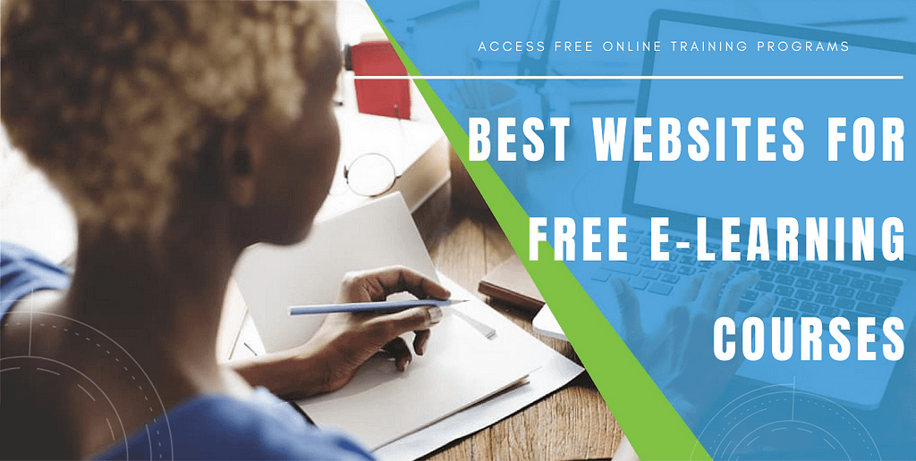 Best websites for free e-learning courses