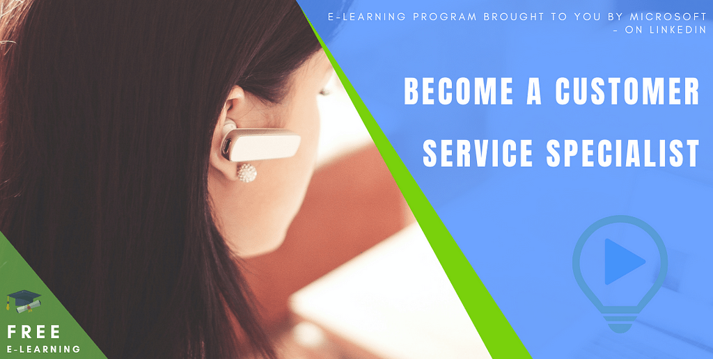 Become a Customer Service Specialist