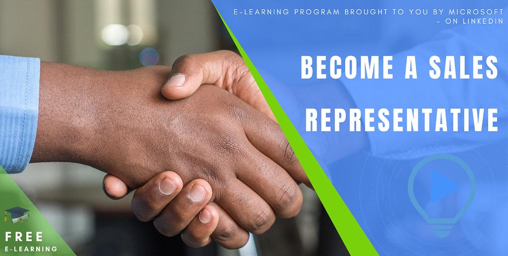 Become a Sales Representative