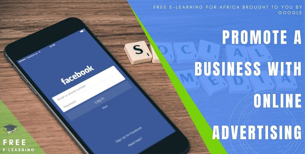 Promote a business with online advertising