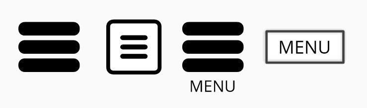 User interface problems - Menu